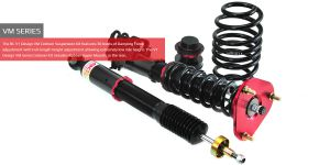 Toyota Mark X Zio FWD 07-13 BC-Racing Coilover Kit V1-VM
