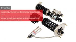 Nissan 370Z 09+ BC-Racing Coilover Kit [ZR]