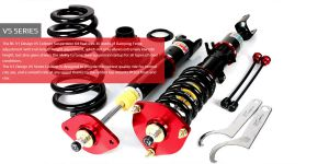 Nissan 250GT-Four 01-06 NV35 BC-Racing Coilover Kit V1-VS