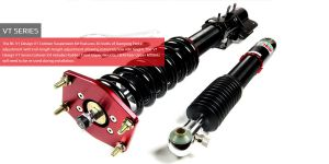 BMW 5 F10 10+ BC-Racing Coilover Kit V1-VT
